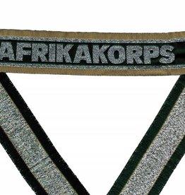 WWII Ärmelband DAK ''AFRIKAKORPS'' gewebt WH Cuff title BEVO