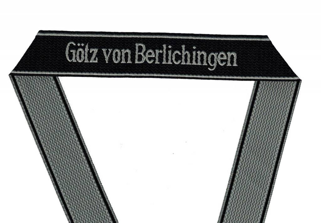 WWII Elite Ärmelband ''Götz von Berlichingen'' gewebt WH Cuff title
