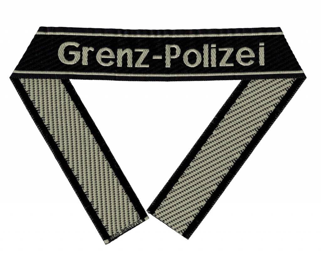 """WH Ärmelband """"Grenz - Polizei"""" Bevo Cuff title"""