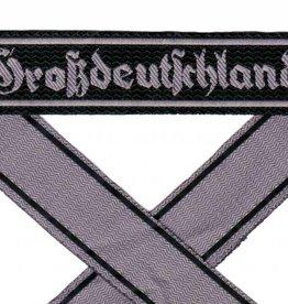 WH Ärmelband Grossdeutschland auf dunkel-grün gewebt Bevo