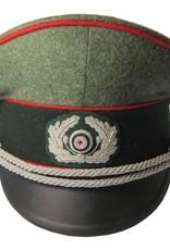WWII German Heer Offizier Schirmmütze Artillerie WH Visor Hat