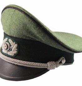 WWII German Heer Offizier Schirmmütze Pioniere WH Visor Hat