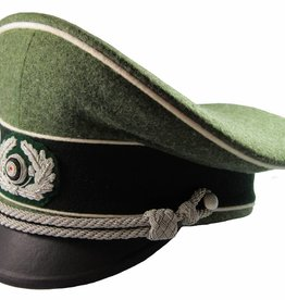 WWII Heer Offizier Schirmmütze Infanterie WH Visor Hat