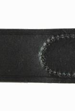 WH schwarz Leder Koppelriemen