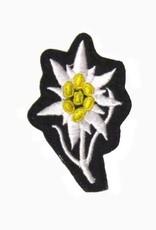 WWII maschinengesticktes Edelweiss Mannschaft Abzeichen