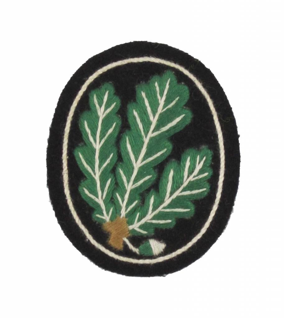 WWII Handgesticktes Jäger Abzeichen