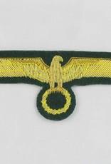 WWII Heer General Brust Adler Abzeichen auf dunkelgrün