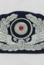 WWII German Stoff-Mützenabzeichen BAHNSCHÜTZ - Repro