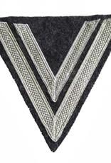 """WH Luftwaffe Rangabzeichen """"Obergefreiter"""", blaugrau Winkel"""