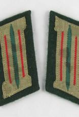WWII M36 Kragenspiegel Feldbluse Mannschaft