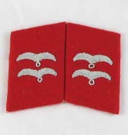 WWII Luftwaffe Kragenspiegel Unterfeldwebel Flak