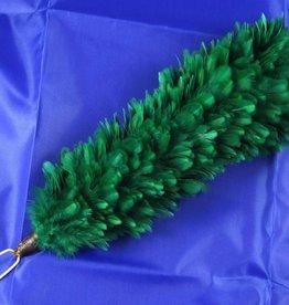 grün Federbusch