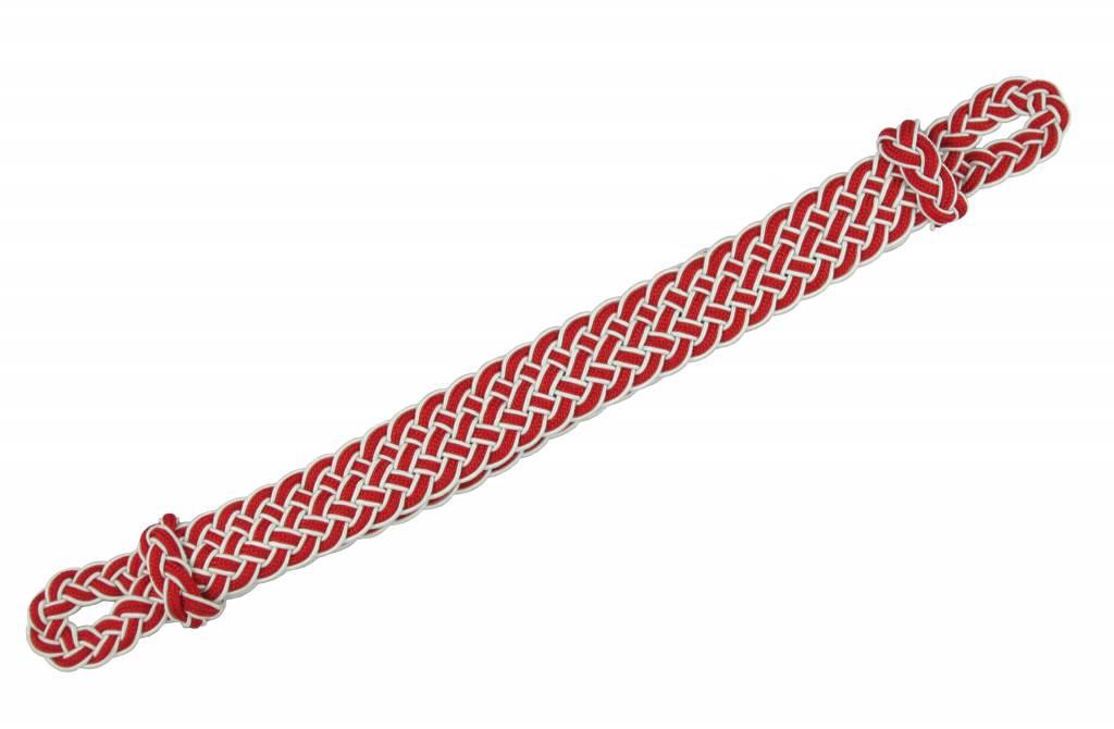 weiss-rot Mützenkordel
