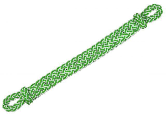 weiss-grün Mützenkordel