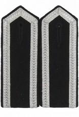 Schulterklappen mit 3 Seiten Aluminium Tresse
