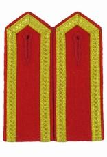 Schulterklappen mit 3 Seiten gold Tresse