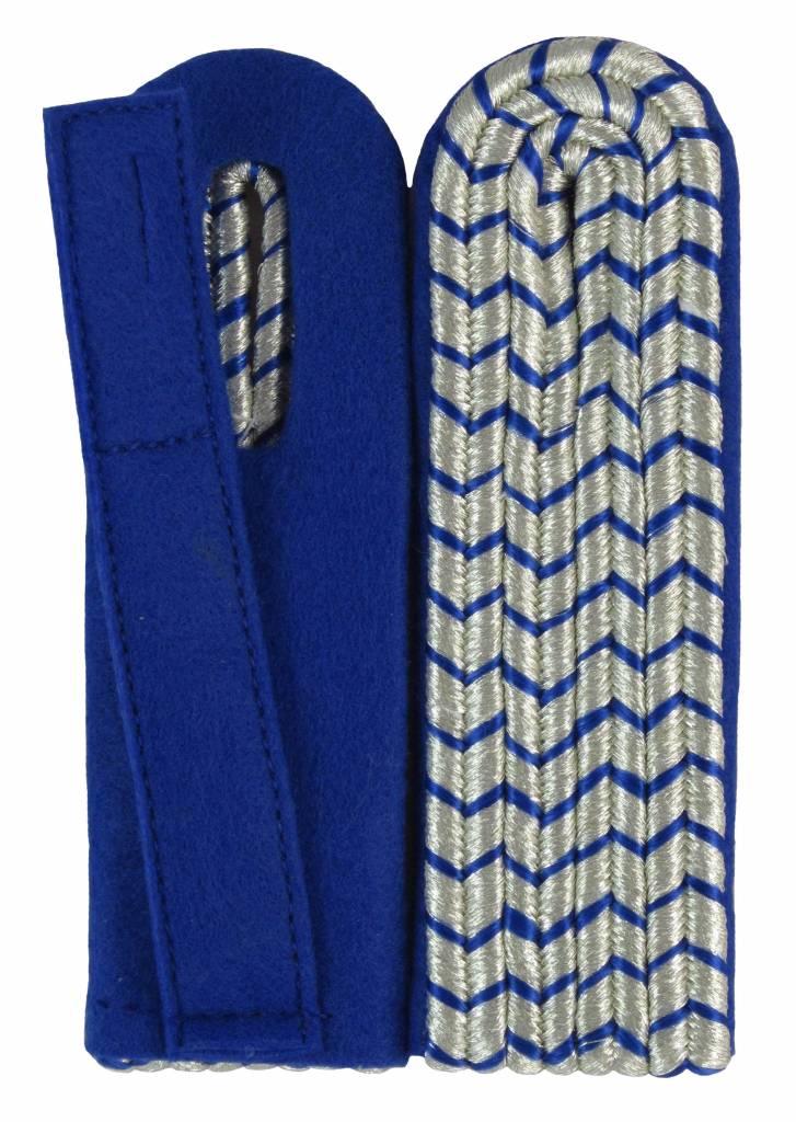 Schulterstücke mit silberfarbigem National