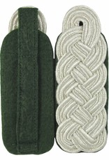 Schultergeflechte - Majorsgeflecht Flachschnur - SILBER