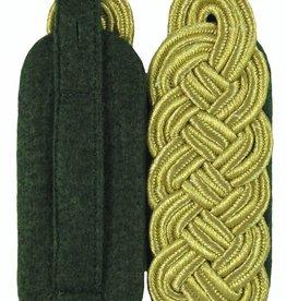 Schultergeflechte - Majorsgeflecht Flachschnur - GOLD