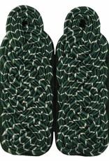 Schultergeflechte - Majorsgeflecht grün mit silber National (Flachschnur)