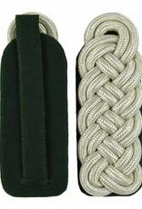 Silber Majorsgeflecht - Schultergeflechte