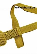 Vereinsbedarf Bhutta gold Portepee mit Tresse (Große Ausführung)