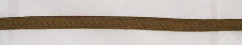 9mm Tresse für Schulterklappen Baumwolle, dunkelkhaki