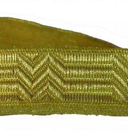 Uniform-Tressen 20mm Bandtresse mit Zackenmutser Litze