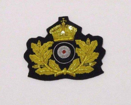 Mützenabzeichen Kaiserliche Marine Offizier mit Kokarde