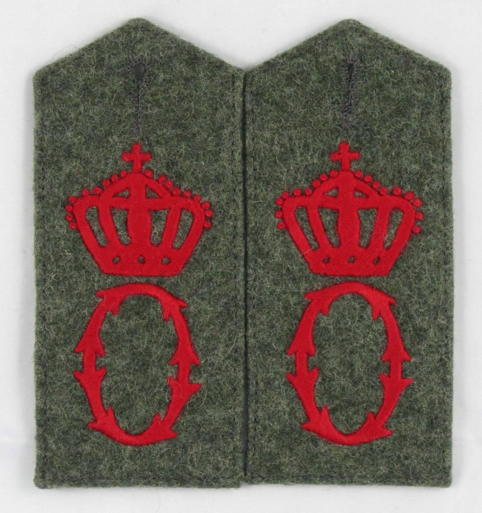 WK1 Schulterklppen Grenad. Rgt. Nr. 119