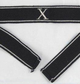 Elite Handgesticktes Offizier Ärmelband mit X
