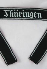 Elite Handgesticktes Ärmelband Thüringen Offizier