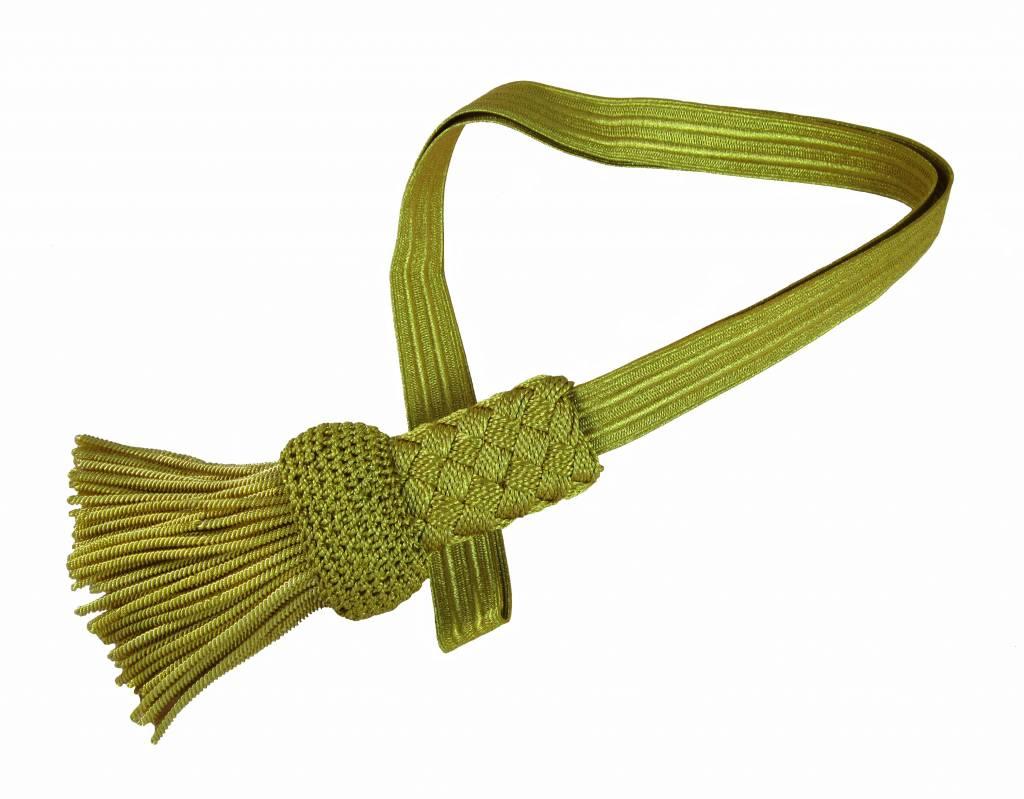 goldenes Portepee mit gold Fransen