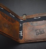 "Harp Leather Harp Leather - Leder-Geldbeutel ""Thors Hammer II"""