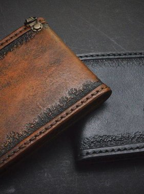 "Harp Leather Leather Wallet ""The Hammer of Thor II"""