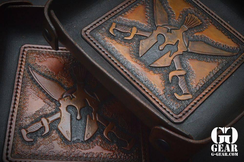 "Harp Leather Harp Leather - Leder-EDC-Schale ""Spartan"""
