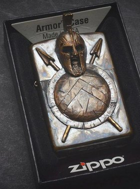 Covenant Gears King Leonidas Custom Zippo Armor Case