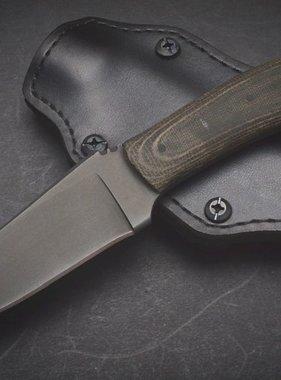 Winkler Knives Blue Ridge Hunter - Black Micarta