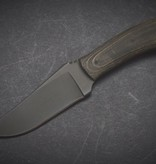 Winkler Knives Winkler Knives - Blue Ridge Hunter - Black Micarta