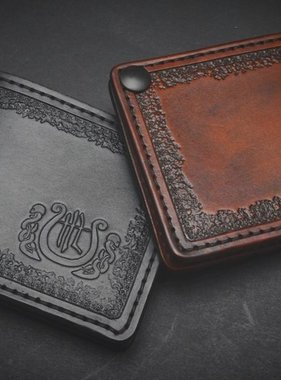 "Harp Leather Leather Wallet ""The Harp"""