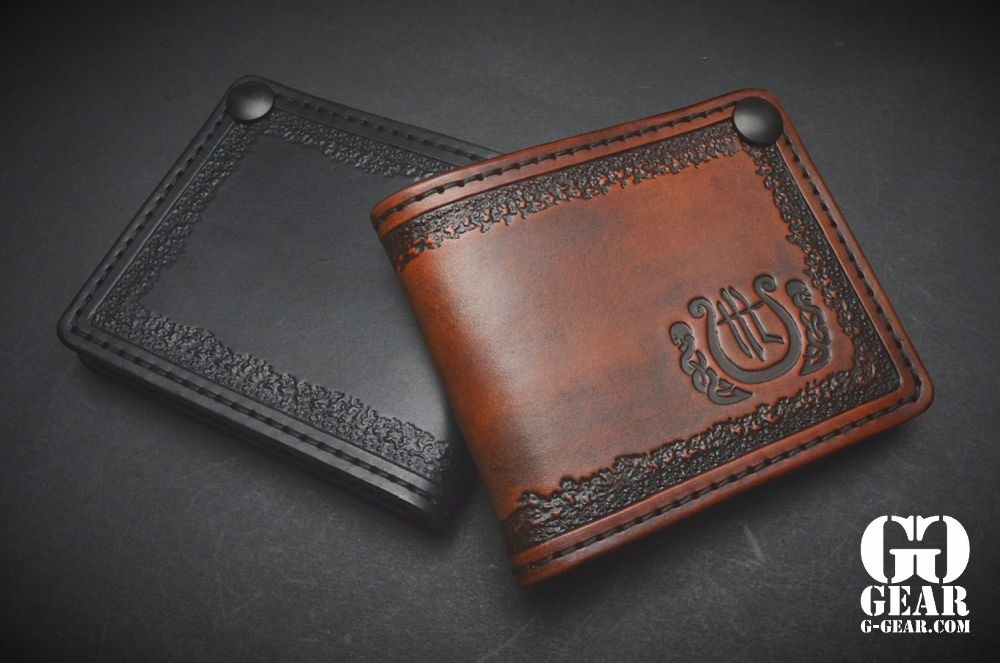"""Harp Leather Harp Leather - Leather Wallet """"The Harp"""""""