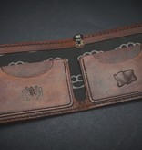"Harp Leather Harp Leather - Leather Wallet ""Join or Die"""