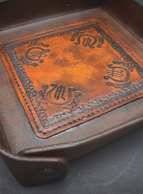 "Harp Leather Leather-EDC-Tray ""The Harp"""