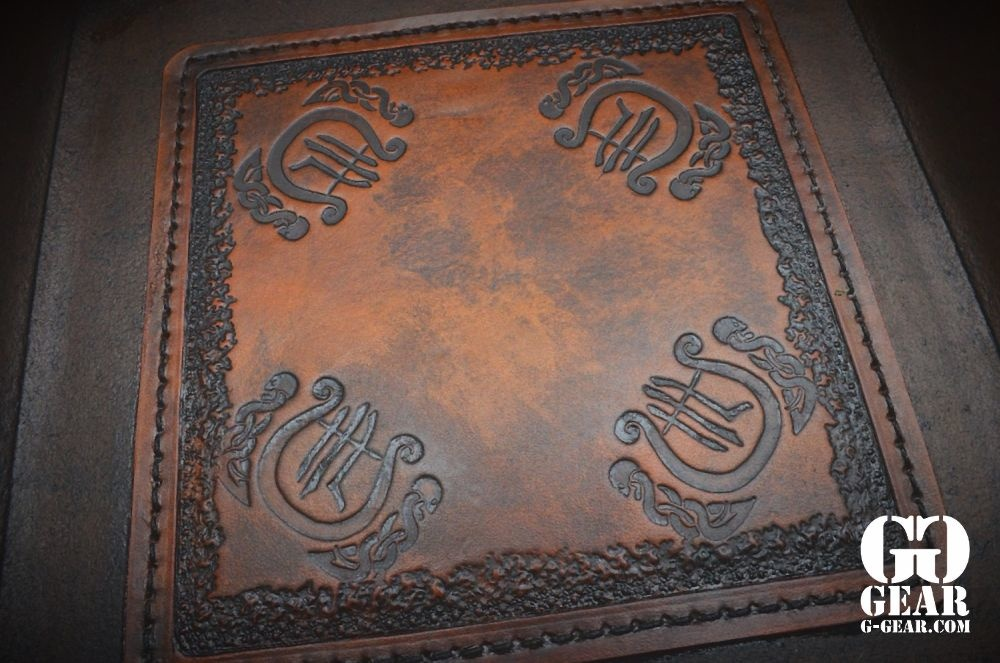 "Harp Leather Harp Leather - Leder-EDC-Schale ""The Harp"""