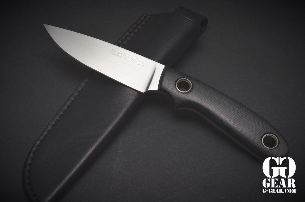 Stuart Mitchell Knives  Stuart Mitchell Knives -  MuntjaX -  Black Micarta