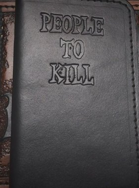 Harp Leather People to kill - Notebook-Cover