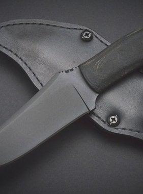 Winkler Knives Chrusher Belt Knife - Black Micarta