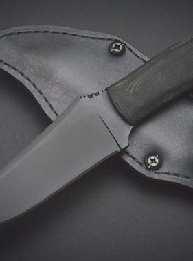 Winkler Knives Crusher Belt Knife - Black Micarta