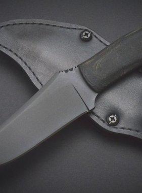 Winkler Knives Crusher Belt Knife - Black Micarta