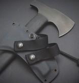 Winkler Knives Winkler Knives - Combat Axe - Black Micarta - Hammerpole